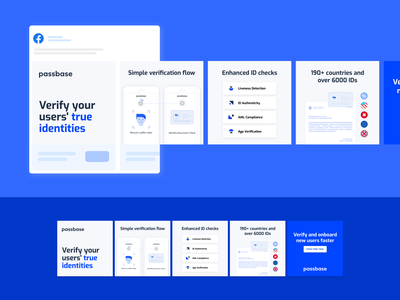Passbase - Facebook Carousels ad design
