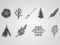 Sea, Field + Tribe Icons