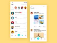 Social application interface