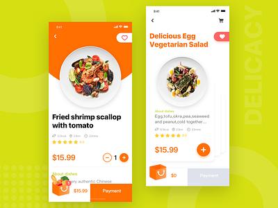 Gourmet Takeaway Platform-2 design healthy interface ui app