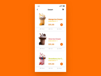 Food interface dynamic effect 1