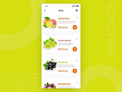 Gourmet Takeaway Platform-5 food gif design interface ui app