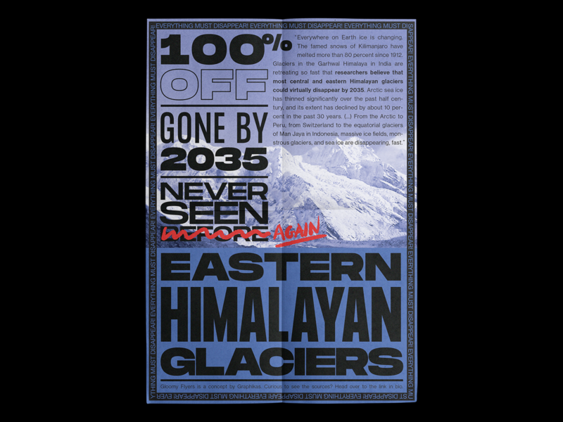 Eastern Himalayan Glaciers gone by 2035 🧊