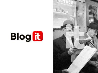 """Redesign logo """"blog.it"""""""