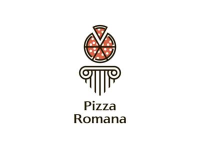 """The Logo """"Pizza Romana"""""""