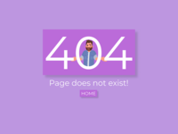 404 Page Daily Ui