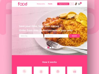 Restaurant System UI Design