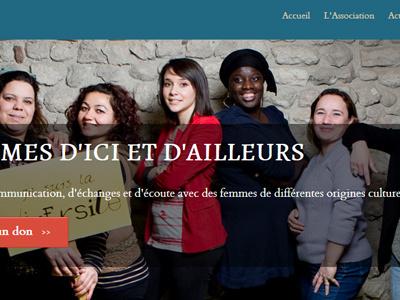 Femmes d'ici et d'ailleurs afida rwd wordpress ngo responsive web design
