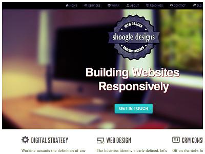 <header></header> shoogledesigns redesign rwd responsive web design