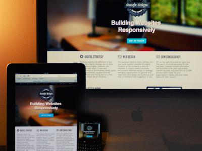 Launched! redesign shoogledesigns rwd responsive web design