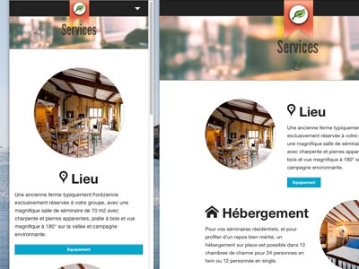 Services page rwd responsive web design