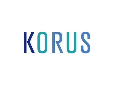 KORUS logo design design logo letter type