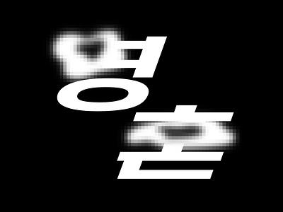 Korean Lettering Soul calligraphy font typography 레터링 type type design 한글레터링 타이포그라피 한글디자인 korean letter graphic lettering