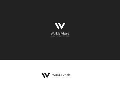 Letter W logo brand identity branding brand hotel logo letter logo blackandwhite white black