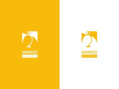 Mango Logo monogram logo mango creative photoshop identity graphic design branding logo design jpg logo