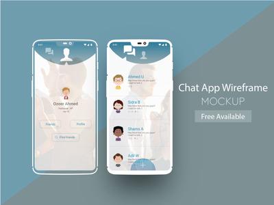 Chat App Dribble Post
