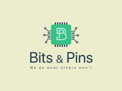 Bits and Pins Logo