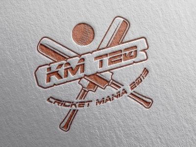 KM T20 Cricket League official Logo