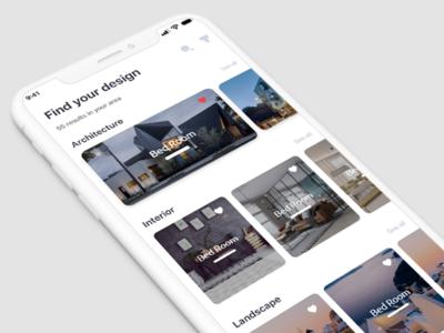 Architecture App UI/UX Design