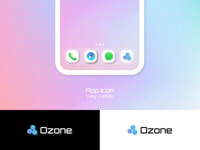 App Icon - Daily UI 005 daily ui 005 app icon icons ozone icon design icon logo daily ui dailyui