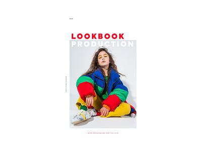 LOOKBOOK PRODUCTION production models model website journal photogtapher fashion lookbook design lookbook illustration design dribbble minimal clean