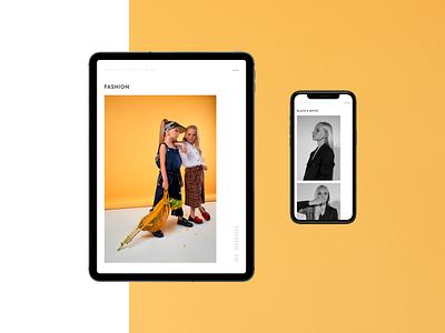 Shevchenko Marina adaptive ux models design minimalism portfolio photographer adaptive tablet user interface design fashion ui mobile dribbble minimal clean