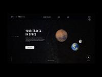 SPACE TRAVEL menu
