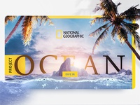 National Geographic - Project Ocean (concept)