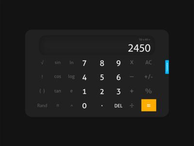 Dark Calculator