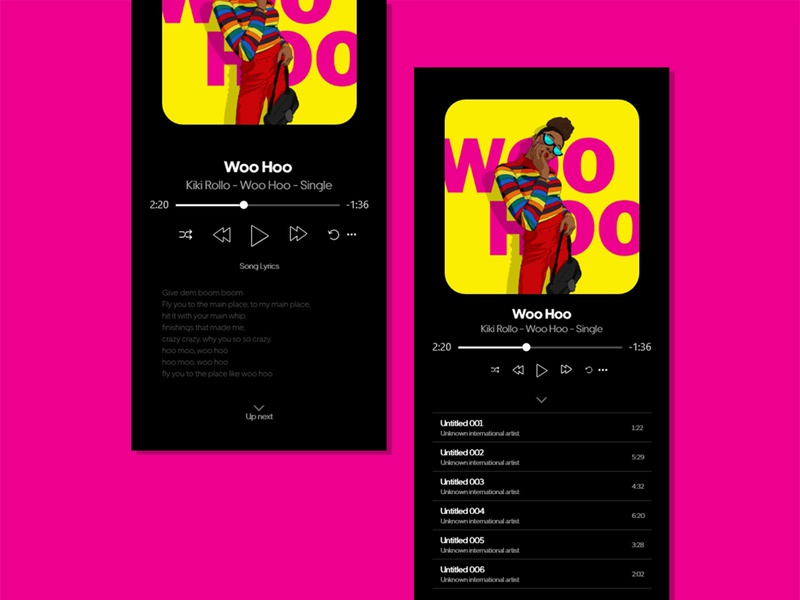 Music Player daily challange daily ui daily music player app music player ui music player music artwork music art musicapp music design