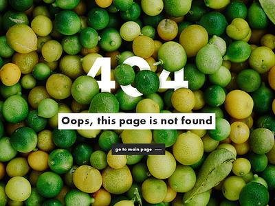 404 Page - Daily Ui 008 404page dailyui