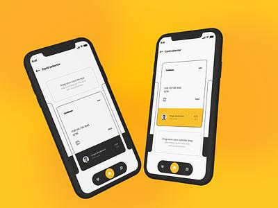Credit card page   Daily Design design ux ui mobile 3d card cards pay payment debit credit payment app balance illustration app concept shapes pattern