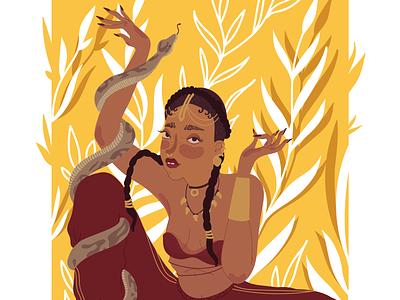 FKA Twigs digital art illustration art
