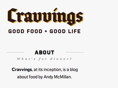 Cravvings