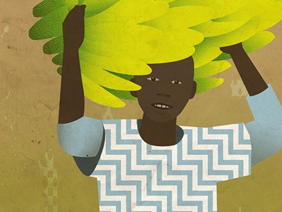 Kinyarwanda textbook cover detail