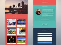 NickAdkins.com portfolio