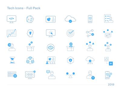 Tech Icons (full pack)