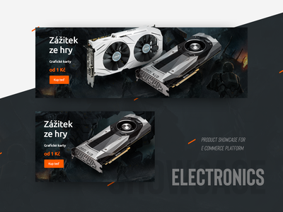 Electronics product showcase showcase product e-commerce card graphic advertisement banner design aukro campaign