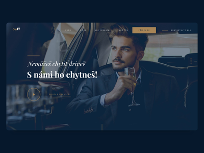 Luxury Homepage Screen 2d screen landing  page rich business landing page web website gold money dark ui ux motion animation after affects design luxury