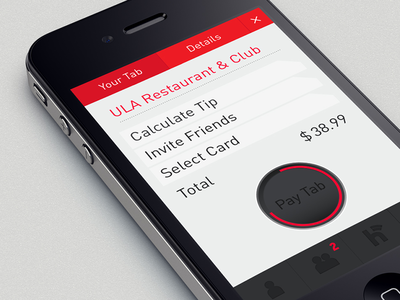 Mobile Payment App iphone ui retina apple mobile user interface mobile payment