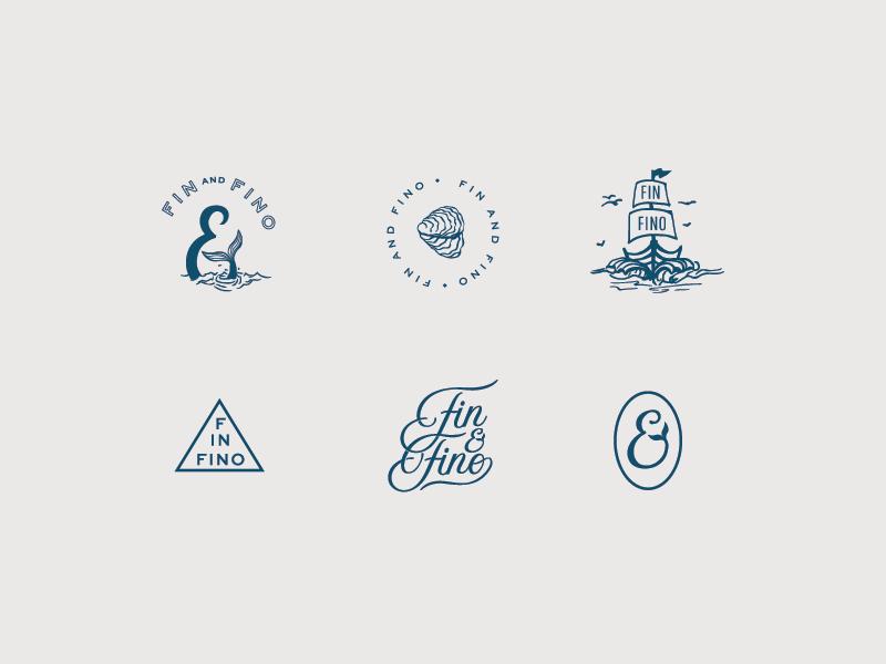 A boatload of Fin & Fino illos
