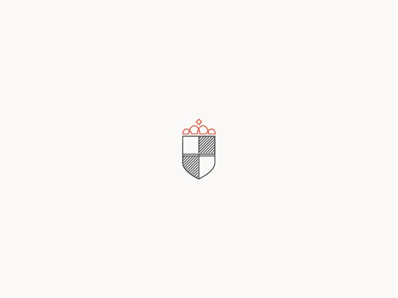 Queen City Crest charlottenc heraldry badge crest logomark logo icon