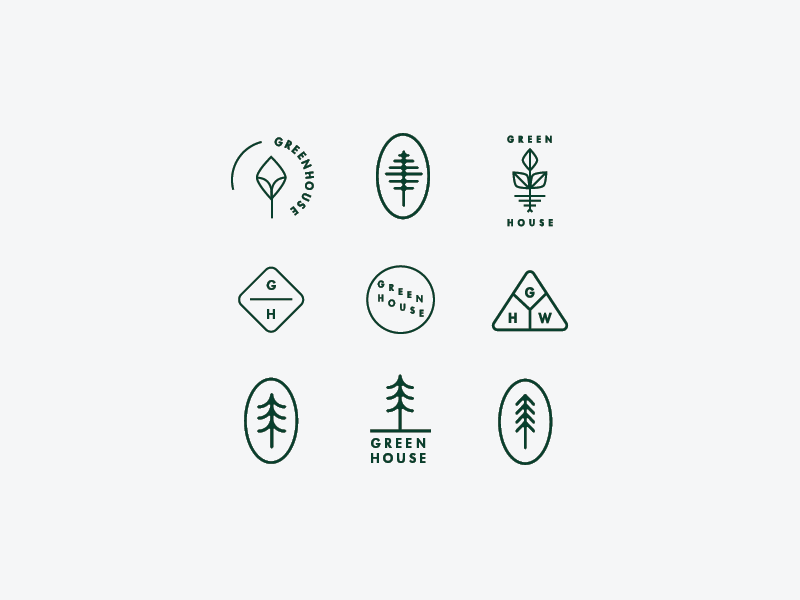 Preliminary biddies church typography branding