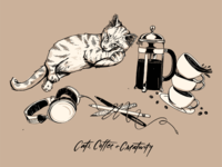 Cats, Coffee & Creativity
