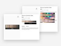 Cosmetics Colour Picker