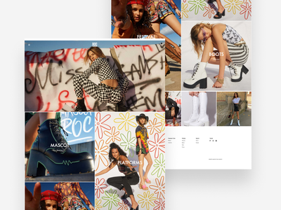 ROC Boots - Shopify Design & Development ux ui melbourne shopify flux.agency flux australia roc rocboots ecommerce shopifyplus