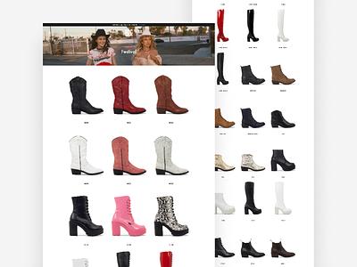ROC Boots 👢- Collection Page ux design shopifyplus flux.agency ux ui melbourne flux australia shopify ecommerce