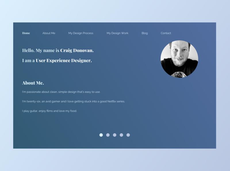 My Portfolio portfolio design portfolio web minimal flat design ui