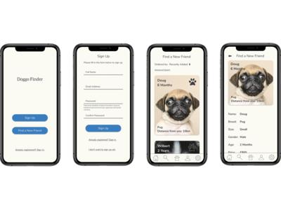 Doggo App Screens