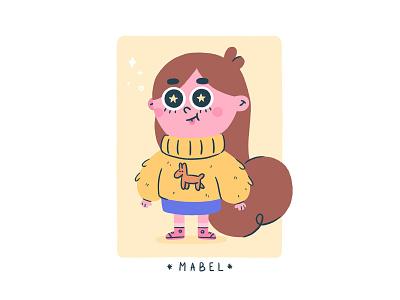 Mabel (Gravity Falls) Fanart fanart characters character design illustration